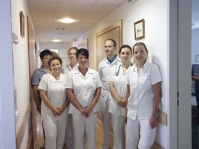 Team of the dialysis centre